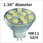 12 volt LED Bulbs - MR11 LED Bulbs