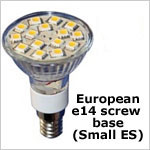 12 volt LED Bulbs - E14 LED Bulbs