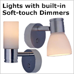 12v LED Lights with Soft Touch Dimmers