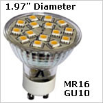 12 volt LED Bulbs - GU10 LED Bulbs