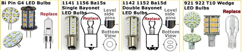 Below Is A Sampling Of Our Very Diverse Selection Of 12 Volt LED Bulbs  (many Of Which Are Also Usable As 24 Volt LED Bulbs) That Can Be Used To  Upgrade ...
