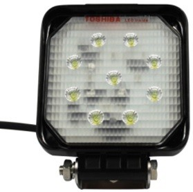 CLEARANCE SALE: 12 volt LED Deck Light / Truck Work Light WSMX20WCW / LED Deck Light, IP67 rated, 316 stainless hardware, 20 watts, 1800 Lumens, 4.3 inch square