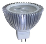 12 volt AC LED Bulb (ac-dc), MR 16 GU5.3, COOL white, 280 lumens