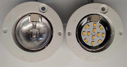 3way 12 volt led light bulb with g4 side bi pins