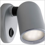 12 volt LED Reading Light (10-30vdc) - FriLight 8006 Tube Light with tear drop base and rocker switch, Multiple LED choices - see Bulb detail.
