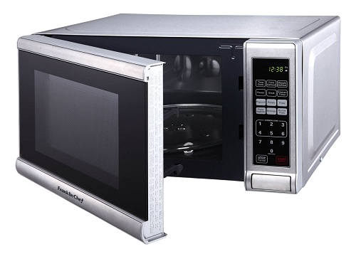 Franklin Chef Small Microwave Oven 0 7 Cu Ft 230v Ce Stainless Steel Discontinued