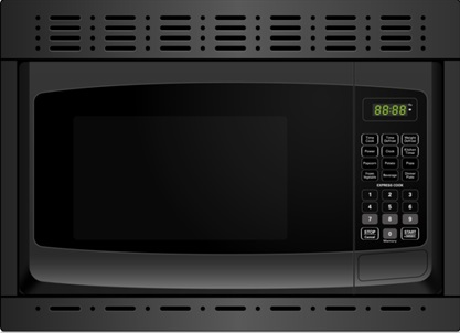 Franklin Chef Built In Microwave Oven 120v Cul Black With Trim Kit Discontinued