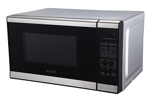 Muave' small microwave oven 0.7 cu. ft, stainless steel, 120v cUL