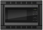 Franklin Chef Microwave Convection, 120v cUL, black with built in trim kit  (DISCONTINUED)
