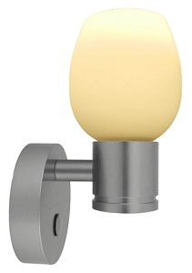 12 Volt LED Wall Light (10 30vdc)   Hayden Aluminum Wall Sconce With