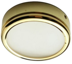 12 volt LED Light (9-16vdc) - Math LED aluminum surface mount Ceiling Light, 0.59 inch Low Profile