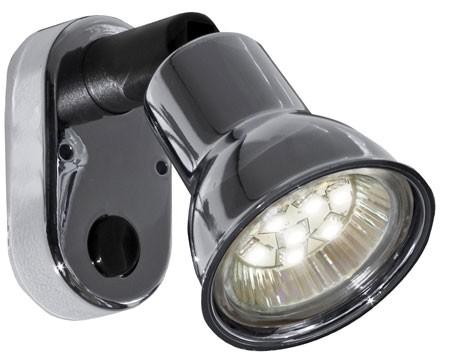12 volt led light 10 30vdc mini 8658 reading light with switch by. Black Bedroom Furniture Sets. Home Design Ideas