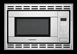 Franklin Chef Rv Microwave Convection 120v Cul Stainless Steel With Built In Trim Kit Discontinued