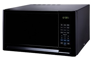 Franklin Chef compact microwave oven 0.7 cu. ft, 120v cUL, black (DISCONTINUED)