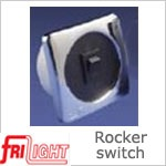 12 Volt Switch - Single Euro Rocker Switch (12 volt or 24 volt)
