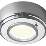 12 Volt Light - Knot, Surface mount ceiling light with switch, Xenon or LED bulb