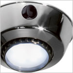 FriLight 8710 Comet S Adjustable (swivel) surface mount ceiling LED Light with Switch, 12 volt - 24 Volt, Multiple LED choices - see Bulb detail.