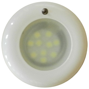 FriLight 8777 Nova LED Recess Ceiling Light, 12 volt - 24 Volt (10-30v dc),  with Toggle Switch, Multiple LED choices - see Bulb detail.