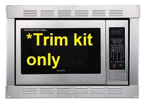 Built-in trim kit for Muave' Convection Microwave oven  MUCMKT120S, stainless steel