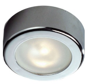 12 Volt Light - FriLight 8507 Star surface mount ceiling light with Xenon 12 Volt 10 watt bulb, Optional Toggle Switch