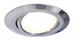 12 volt LED Ceiling Light (10-30vdc) - Zach LED Adjustable recess mount, low profile