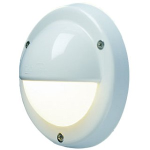 12 volt LED Courtesy Light (10-30vdc): FriLight 8991 Targa Cap, wall mount, IP64 Water Resistant, Multiple LED choices - see Bulb detail.